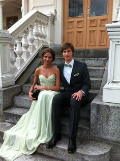 Prettiest prom couple I've ever seen