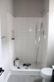 Image result for doorless tiled shower
