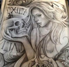 Chicano Arte Payasa Tattoo, Boog Tattoo, Chicano Style Tattoo, Chicano Love, Chicano Tattoos, Body Art Tattoos, Rose Tattoos, Card Tattoo Designs, Tattoo Ideas