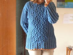 Ravelry: Bed and Breakfast Pullover pattern by Kathy Zimmerman