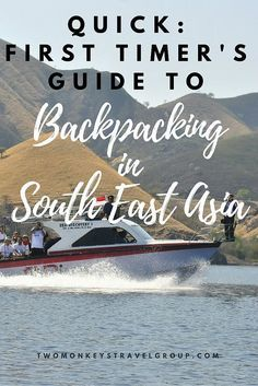 First-timer's Guide to Backpacking in South East Asia. Backpacking in South East Asia is, for many, a once in a lifetime opportunity, so when you set out on your first trip, you want to do it right! You probably want to avoid rookie mistakes which could put bit of a downer on your trip and give you any unpleasant problems dramas.