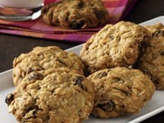 Vanishing Oatmeal Raisin Cookies - Original Quaker Oatmeal Cookie Recipe.  This is the best!  The new version on the Quaker website does not compare.  Charlie Girl