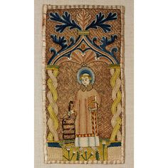 Orphrey Victoria And Albert Museum, Objects, Textiles, Embroidery, Collection, Medieval Embroidery, Needlepoint, Fabrics, Textile Art