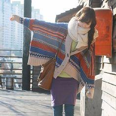 Vintage-Boho-Ethnic-Knitted-Cardigan-Kimono-Tribal-Print-Batwing-Sleeve-Oversized-Cardigan-Mori-Girl-Women-Poncho (3)