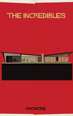 12   Minimalist Posters Depict The Architecture Of 13 Classic Films   Co.Design   business + design