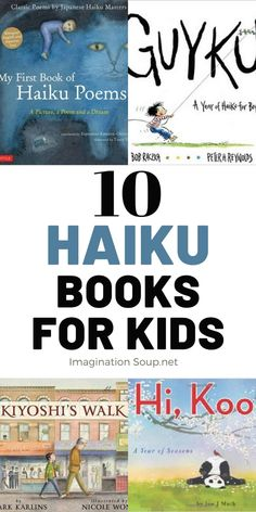 Haiku Poems For Kids, Poetry Books For Kids, Best Children Books, Childrens Books, Types Of Poems, Japanese Haiku, Classic Poems, Poetry Activities, Writing Lesson Plans