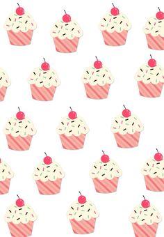 #cupcake #fondos #cute                                                                                                                                                                                 Más