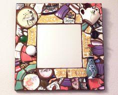 hodge podge mosaic mirror - natalie baca