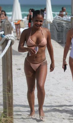 EVERYONE would love to see black R&B singer Christina Milian nude. Today is your lucky day, boys. Christina Millian, Bikinis, Swimwear, Naked, Singer, Boys, Beauty, Black, Celebrities