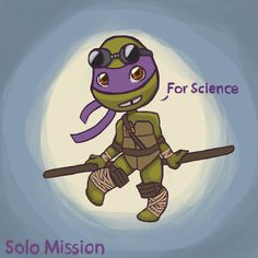Solo Mission Chapter 6 Donnie Sketch by unluckyduckie.deviantart.com on @deviantART