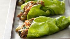 Receta de Tacos de Lechuga con Pechuga de Pollo