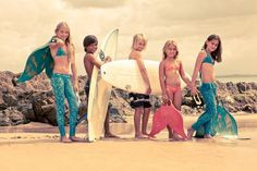 Little girls can become little mermaids with the MerFin
