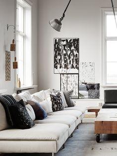 living room - deko