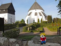 Bornholm, Denmark 2012. LEGO - Life of George also visited Østerlars Church (Rundkirke), which is the largest.....