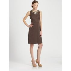 Great taupe/brown colored dress