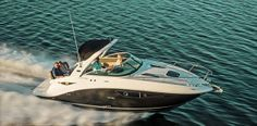 Today we present one of new model Sea Ray company. This time our theme is the new 2014 Sea Ray 260 Sundancer Sport Cruiser with excellent performance and beautiful design. With this model you will enjoy every departure to the open sea. Let's look at