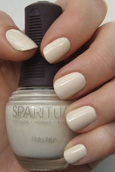 Spa Ritual Vegan, Natural polish in Pebble. My parents just bought this for me today, probably will become my new favorite that's appropriate for work. Shellac Nails, Manicure, Nail Polish, Pink Nail Designs, Nail Designs Spring, Beauty Room, Hair Beauty, Posh Nails, Cute Pink Nails