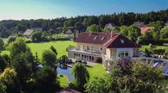 Extraordinary Property of the Day: Grand Country Villa in Central Bohemia, Czech Republic