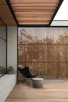 Backyard Patio, Backyard Landscaping, Outdoor Rooms, Outdoor Living, Fence Design, Garden Design, Balkon Design, Design Hotel, Exterior Design