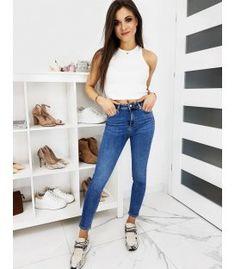 Dámske džínsy Skinny Fit Superior modré Skinny Fit, Jeans, Fitness, Fashion, Moda, Skinny, Fashion Styles, Fashion Illustrations, Denim