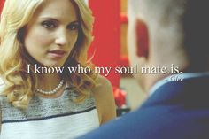 I know who my soulmate is - puck to quinn