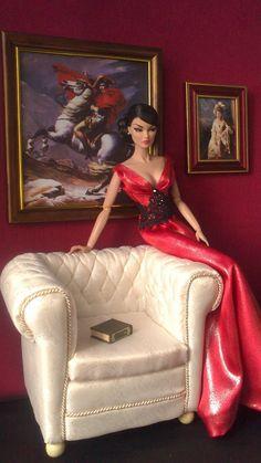Beautiful Barbie Dolls, Vintage Barbie Dolls, Barbie Dress, Barbie Clothes, Fashion Royalty Dolls, Fashion Dolls, Dolls House Shop, Manequin, Diy Barbie Furniture