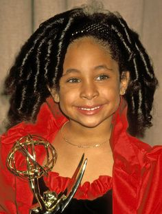 1991: Sweet Olivia from the Cosby show. Raven Symone