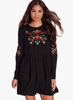 Missguided-Black-Long-Sleeve-Embroidered-Front---Sleeve-Dress-7204-8425281-1-pdp_slider_l.jpg (440×600)