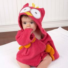 OMG want! We have a hooded owl towel I love and this would be a perfect match