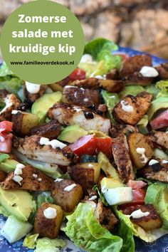 Dutch Food, Poke Bowl, Dutch Recipes, Kung Pao Chicken, Family Meals, Salads, Bbq, Low Carb, Lunch