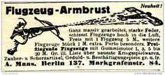 Original-Werbung/ Anzeige 1917 - FLUGZEUG - ARMBRUST / MAAS - BERLIN - ca. 75 x 35 mm