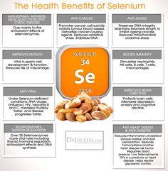 How Selenium Helps to Detoxify Mercury