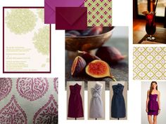 sophisticated layering of pattern and rich colors.