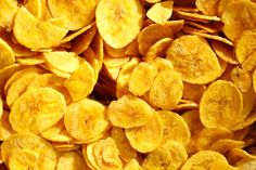 Aprenda a fazer chips de banana. (Foto: Divulgação)
