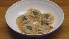 Official MasterChef Australia recipe - Porcini, Chicken and Parsley Ravioli by Ben Macdonald