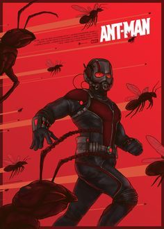 Ant-Man - movie poster - Berkay Daglar