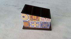 Porta controle remoto    www.elo7.com.br/esterartes