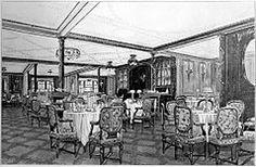 the A La Carte restaurant on B Deck, run as a concession by Italian-born chef Gaspare Gatti.