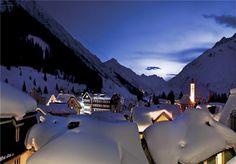 Swiss alps..