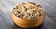 Tiger nuts might be your new go-to healthy snack. They have mild, nutty, earthy, and sweet flavor, and a slightly chewy texture. They're super filling, low in calories, and chock-full of resistant starch.