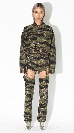 26f6fac2c0904 Work Chap Tiger Camo - Brashy Studios Boiler Suit