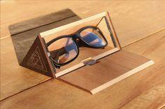 The Wooden Eyewear Case by +MingJunYou/Design, via Behance