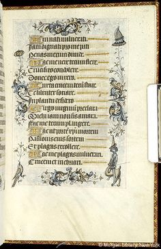Book of Hours, MS M.854 fol. 234r - Images from Medieval and Renaissance Manuscripts - The Morgan Library & Museum
