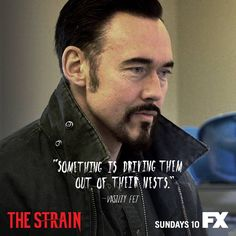The Strain. Kevin Durand as Vasiliy Fet.... He was so great in Lost.