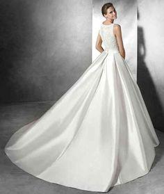 ... mikado Robe de mariée en soie Mikado, robe de mariée en soie mikado racing, ...