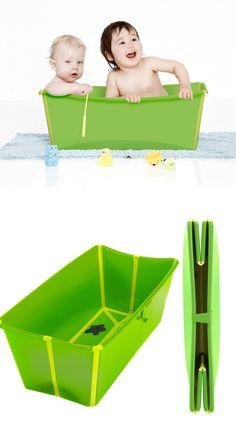 FlexiBath - folds up flat to store, BPA Free