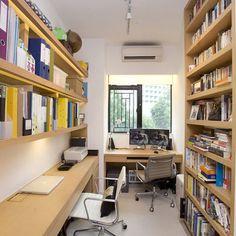 Home Study Design Ideas small home study design ideas impressive Narrow Office For Two