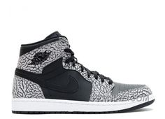 http://www.yesnike.com/big-discount-66-off-air-jordan-1-retro-high-black-elephant-print-sale.html BIG DISCOUNT! 66% OFF! AIR JORDAN 1 RETRO HIGH BLACK ELEPHANT PRINT SALE Only $74.00 , Free Shipping!