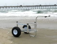 Reels on Wheels Beach Buddy Fishing Cart Beach Fishing Cart, Beach Cart, Surf Fishing, Walleye Fishing, Saltwater Fishing, Fishing Rod, Matilda, Fishing Umbrella, Gander Mountain