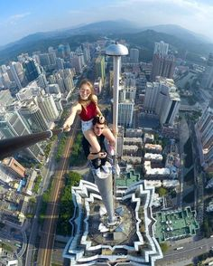 Home Discover Discover thousands of images about 20 Scary Yet Beautiful City Climber Selfies - bemethis Parkour Unbelievable Pictures Cool Pictures Cool Photos Amazing Photos Shark Pictures Digital Photography Amazing Photography Extreme Photography Parkour, Unbelievable Pictures, Cool Pictures, Cool Photos, Amazing Photos, Shark Pictures, Digital Photography, Amazing Photography, Extreme Photography